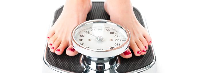 una bilancia per controllare il peso corporeo