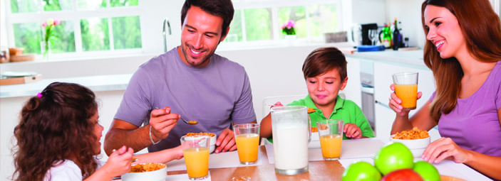 le abitudini alimentari dei genitori influenzano quelle dei bambini