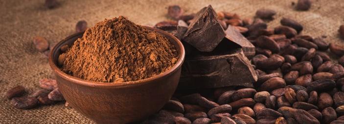 dettaglio su cacao e cioccolata