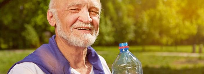 una corretta idratazione con l'acqua