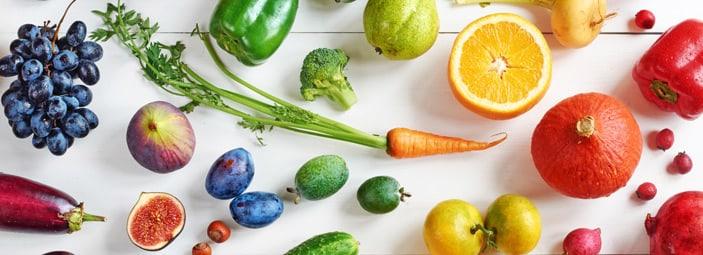 frutta e verdura, binomio indispensabile per una sana ed equilibrata alimentazione