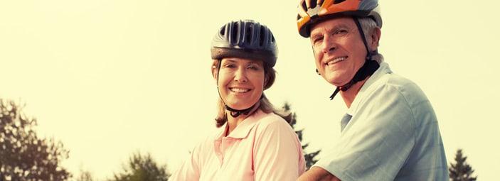 sport e attività fisica per gli anziani: bicicletta